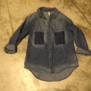 Light denim colored shirt